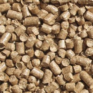 Straw Pellets Premium - 72x15 / 1080kg. Papir poser & pallehætte