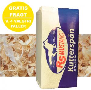 RS KUTTERSPÅN / GROV SIGTET BLØDE SVENSKE SPÅNER